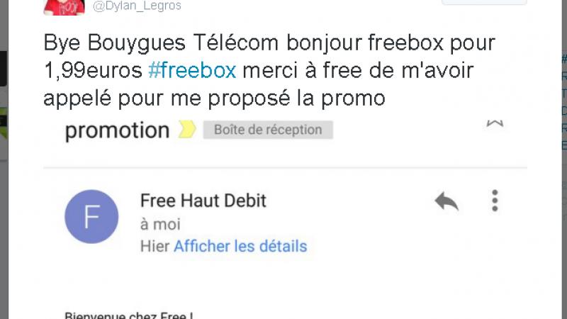 Free propose la Freebox à 1,99€, mais pas à tout le monde