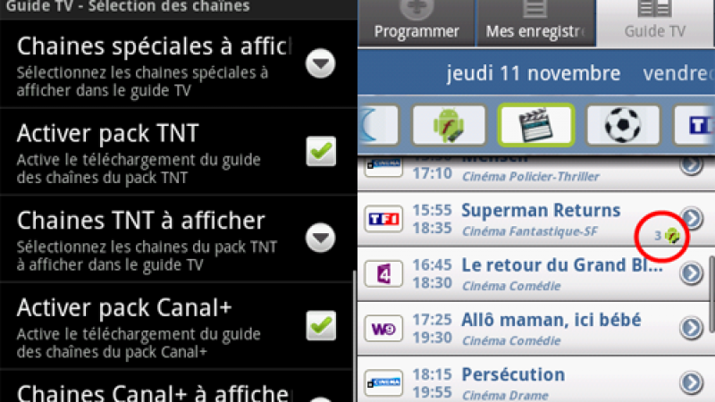 Freebox Recorder : la version 1.8.0 disponible