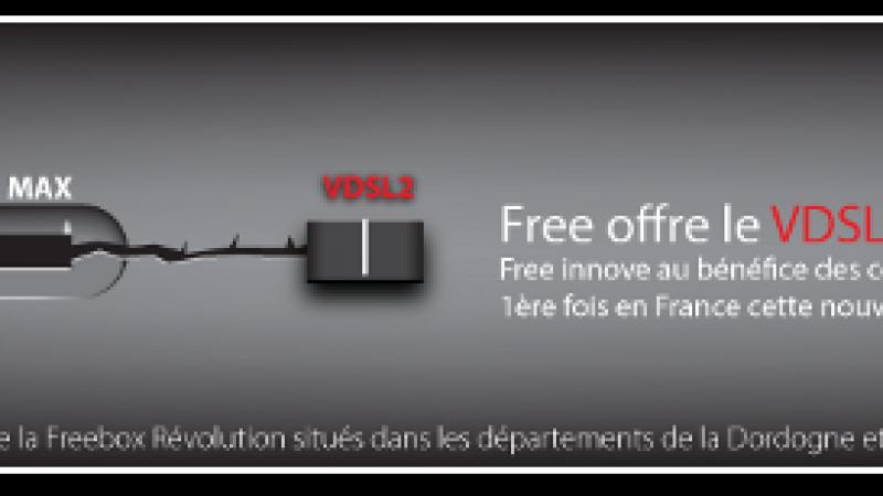 Le VDSL2 s'invite sur le site de Free et dans les étapes d'inscription