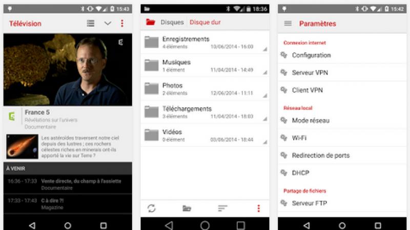 Une mise à jour chargée de nouveautés pour Freebox Compagnon (Android)