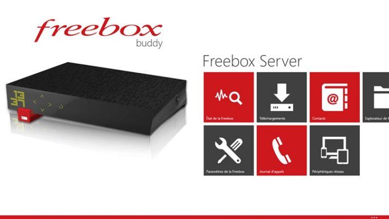 Freebox Buddy, maintenant disponible pour PC et tablettes sous Windows 8