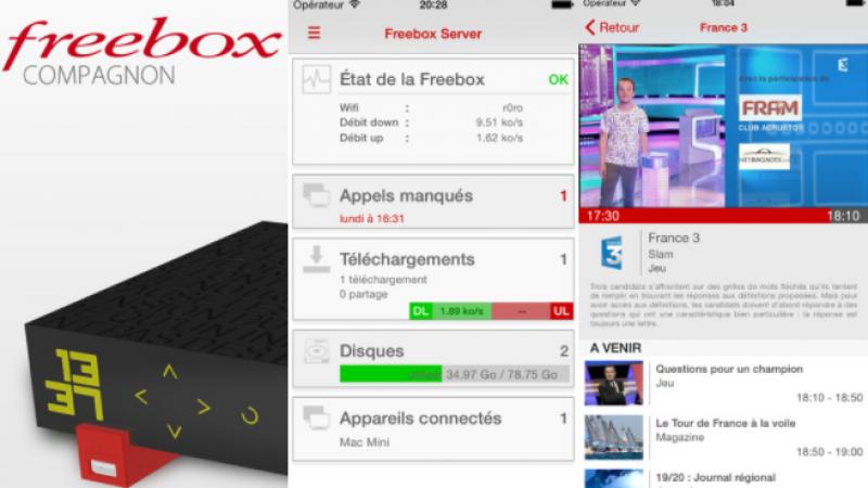 Free indique qu'il va faire évoluer son application Freebox Compagnon et qu'il recrute pour cela un développeur