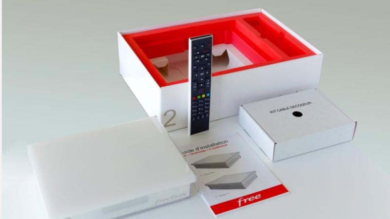 Nouvelle offre Freebox Crystal : le service TV est proposé mais en option