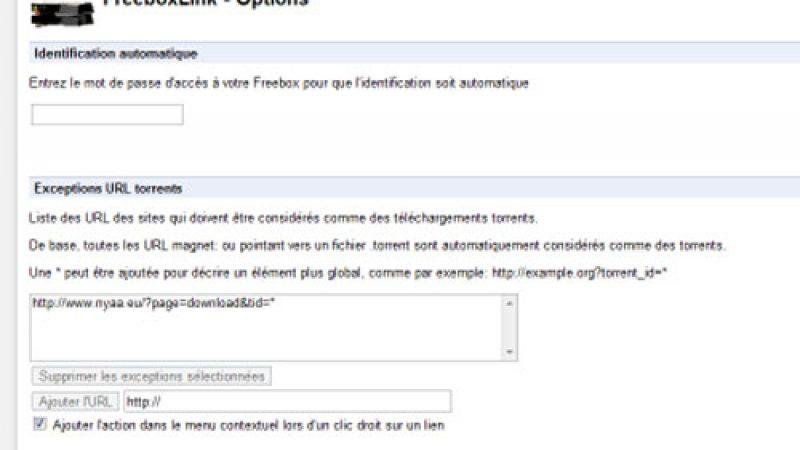 Nouvelle extension Chrome pour télécharger des fichiers directement sur la Freebox