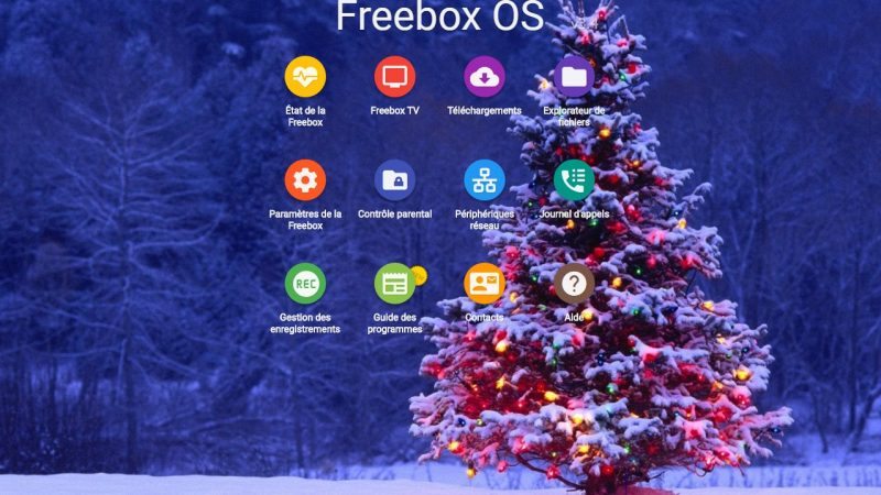 C'est déja Noël sur Freebox OS