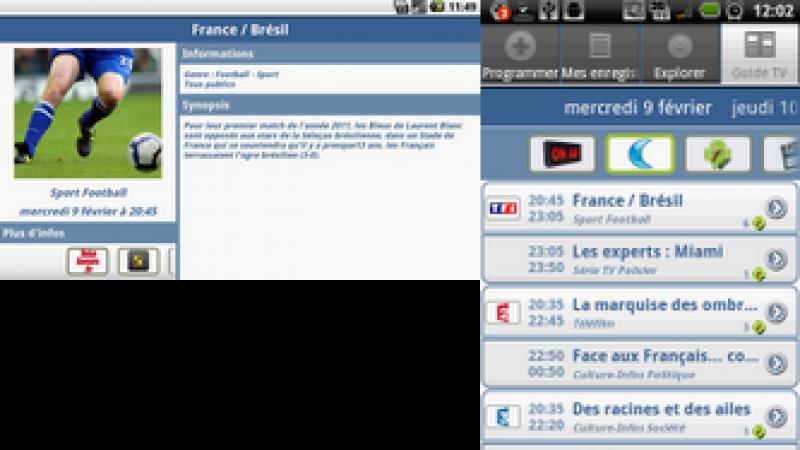 Mise à jour Freebox Recorder sur Android