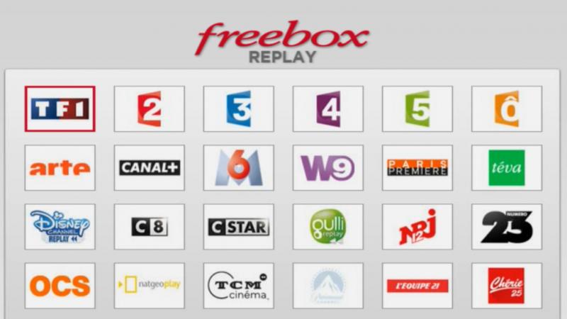 2 nouveaux services de Replay gratuits sont disponibles sur la Freebox