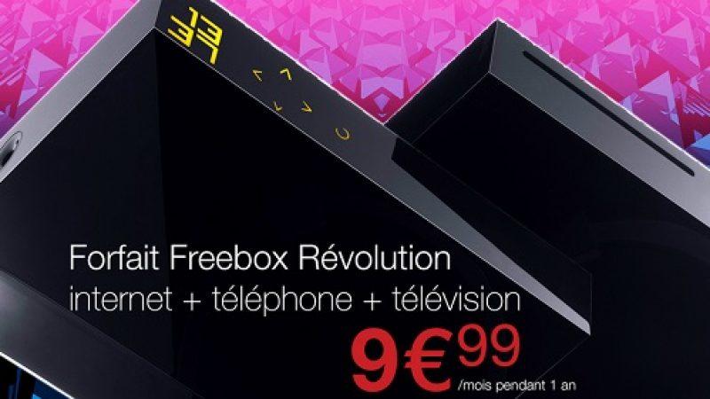 Free propose également une offre spéciale pour les abonnés Freebox via Vente-Privée
