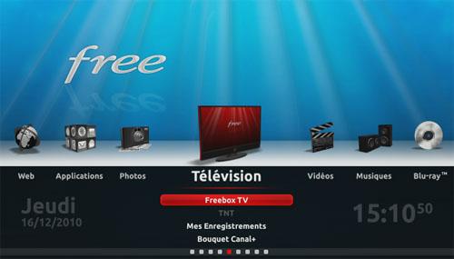free tv ne s allume pas