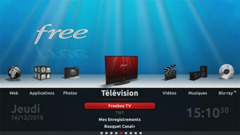 Petit lifting TV sur le site de Free