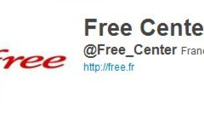 Les Free Centers s'invitent sur Twitter.
