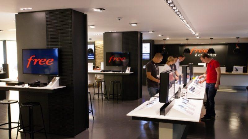 De nouvelles baisses de tarifs temporaires dans la boutique Free Mobile