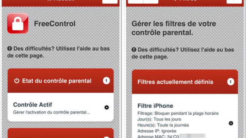 FreeControl : Une application dédiée au contrôle parental de la Freebox Révolution