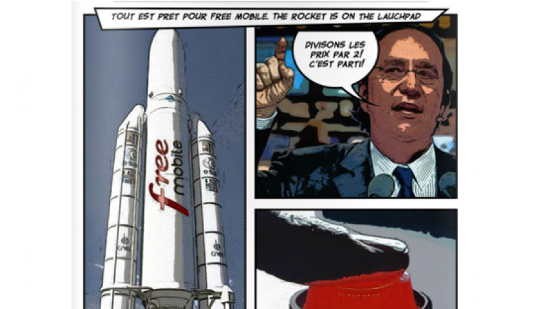 "Free lance son célèbre ""The rocket is on the launch pad"" mais à la sauce réunionnaise"