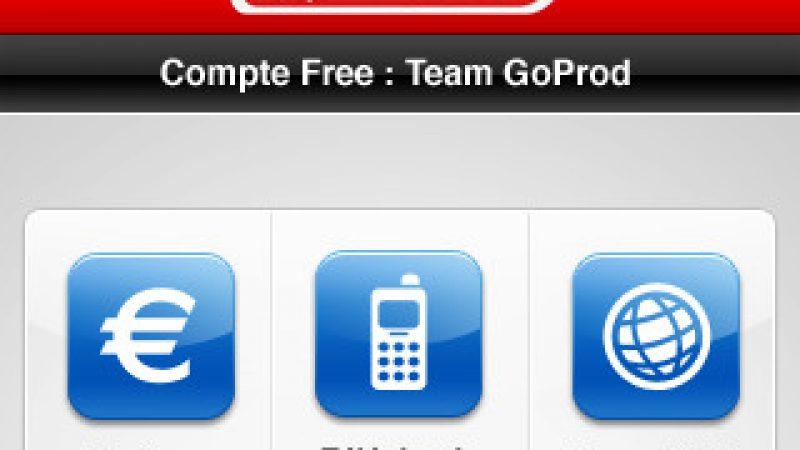 Nouvelle mise à jour pour FreeGo