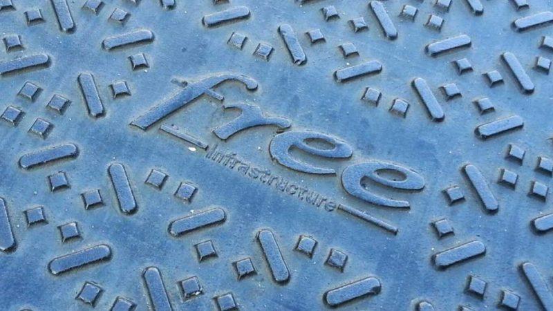 Reportage photo : découvrez comment Free installe la fibre optique en ZMD