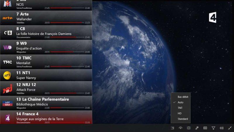 Une nouvelle application pour regarder Freebox TV sur son PC sous Windows 10