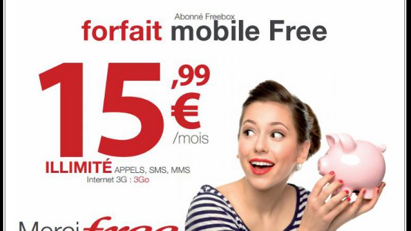 Découvrez les affiches publicitaires de Free Mobile dédiées aux abonnés Freebox