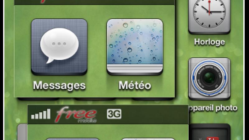 Personnalisez le logo de Free Mobile avec votre iPhone