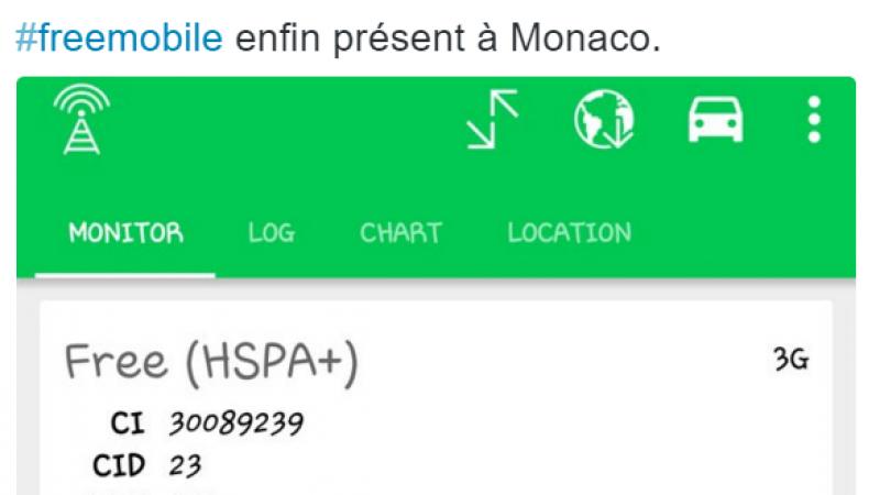 Le réseau Free Mobile donne enfin signe de vie à Monaco