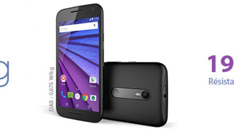 Un nouveau Motorola est disponible dans la boutique Free Mobile