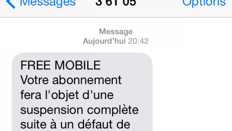 Une arnaque par SMS cible les abonnés Free Mobile