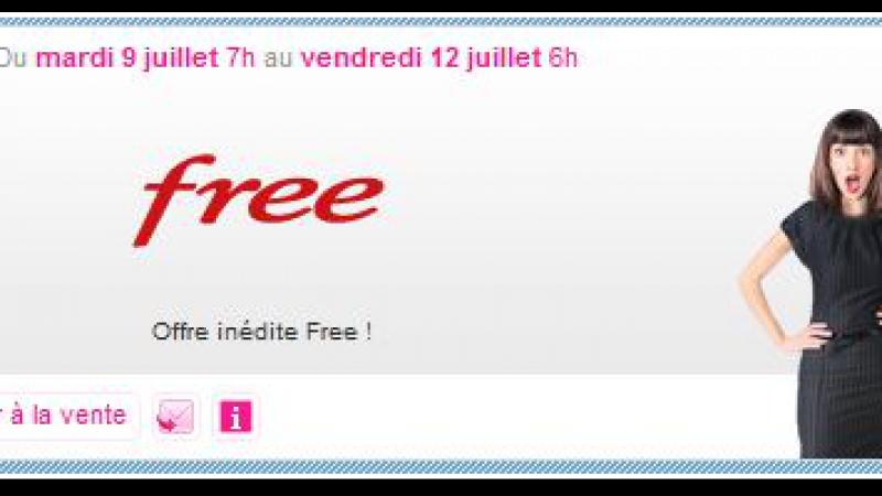 Vente-Privee : l'offre Free 6Go à 39.99€ avec mobile subventionné est prolongée