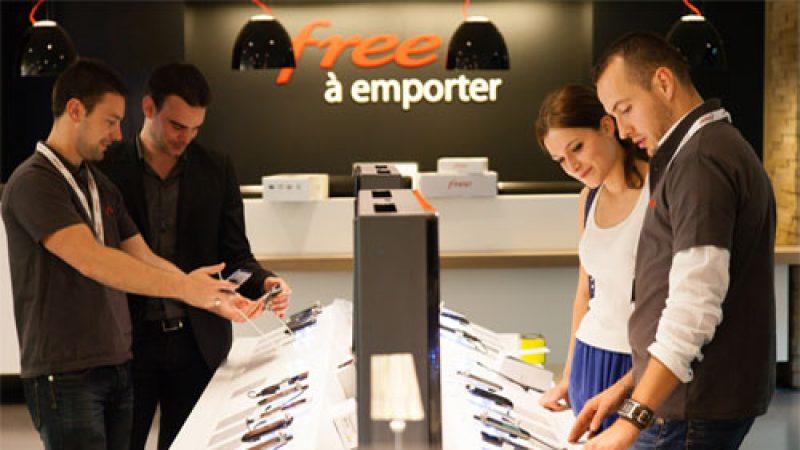 Les évolutions de la boutique Free Mobile : nouveau modèle, accessoires offerts, etc.