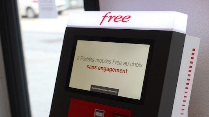 Nombre record d'abonnements à Free Mobile le jour de son lancement : plus de 1 million en 9 heures