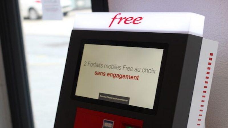 Baisses de prix dans la boutique Free Mobile