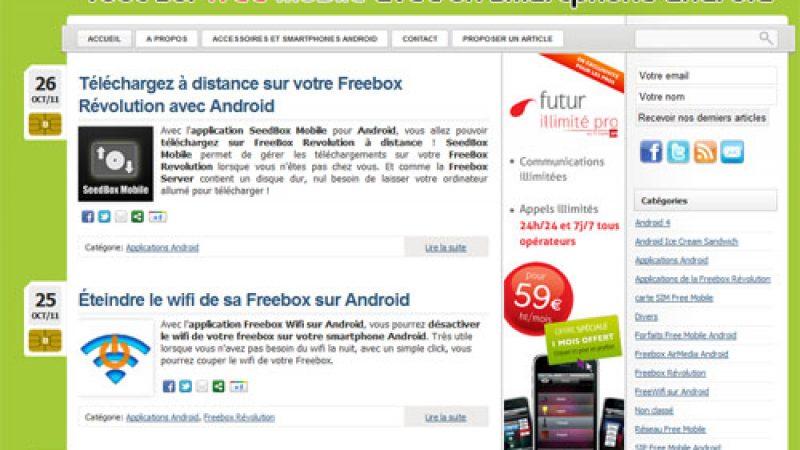 Free Mobile Android : Un nouveau site dédié à Free Mobile pour les utilisateurs d'Android