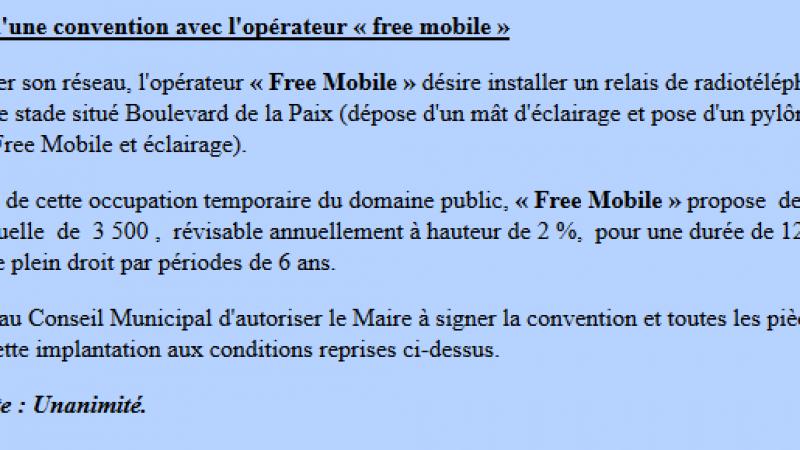 Free Mobile : combien coûte la redevance annuelle d'une antenne mobile ?