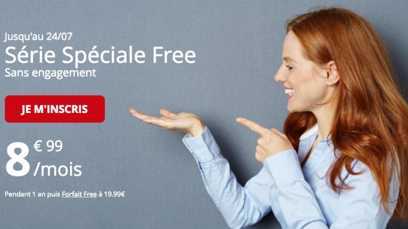 Série Spéciale Free Mobile : le forfait 50Go est prolongé