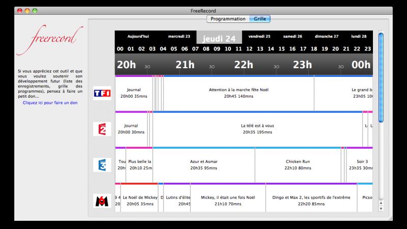 Avec Freerecord, programmez le magnétoscope de la Freebox depuis Firefox