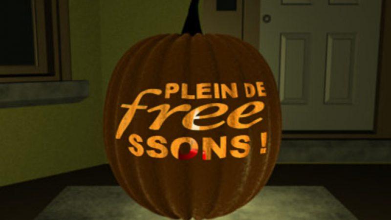 Pour Halloween, habillez votre Freebox Révolution en conséquence