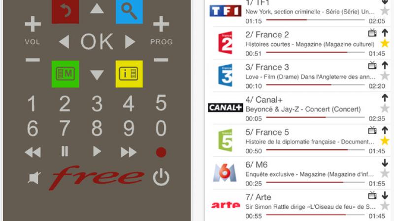 Une mise à jour est disponible pour la télécommande virtuelle FreeTéléc
