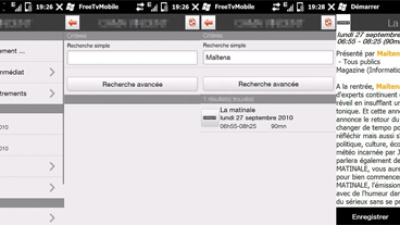 FreeTVMobile passe en version 0.5