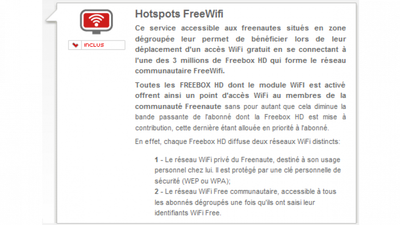 Le portail Free.fr accueille FreeWiFi