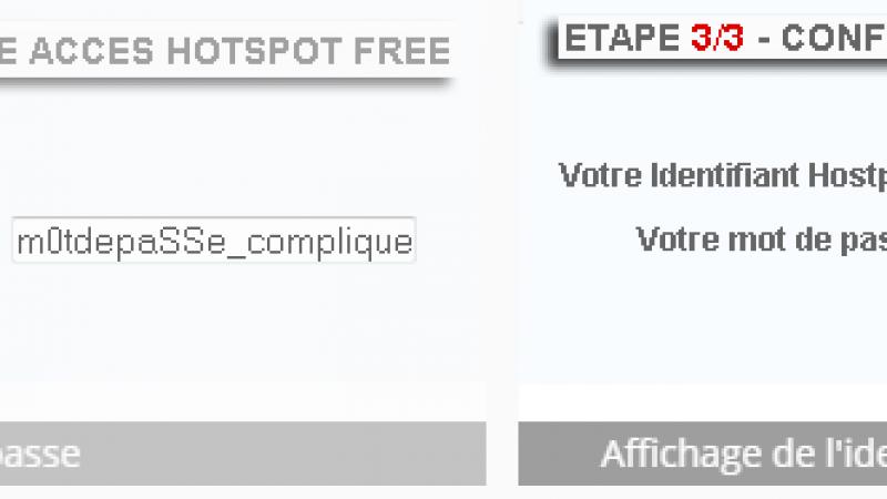 Clin d'oeil : un vaste trafic d'identifiants Free WiFi démantelé à Lille