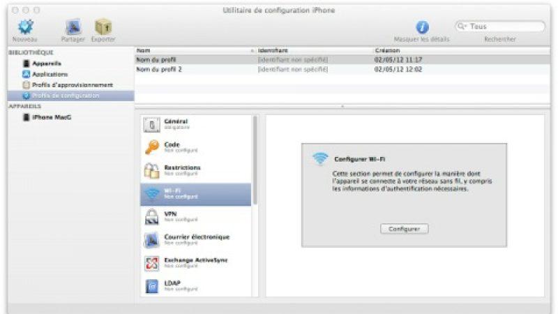 Free Mobile : Installez le profil de configuration EAP SIM pour les iOS 4