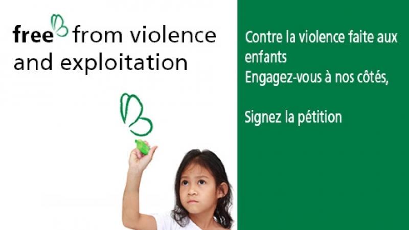 Free s'engage contre la violence et l'exploitation des enfants
