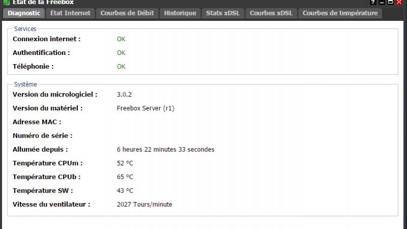 Freebox Server : marche arrière sur la mise à jour
