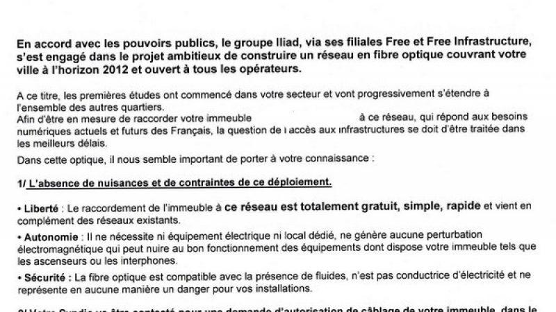 La fibre optique avance à Montpellier