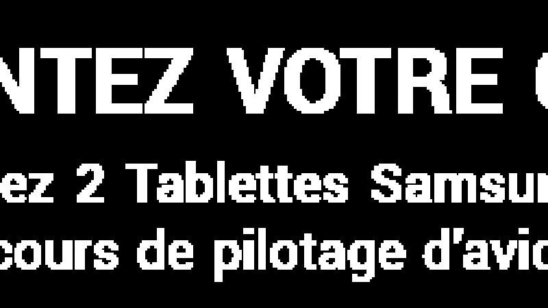 Free et la chaîne Voyage lancent un concours permettant de remporter des tablettes et des cours de pilotage