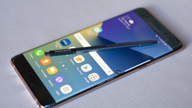 Le Samsung Galaxy Note 7 de retour sur le marché le 28 septembre, mais pas en France