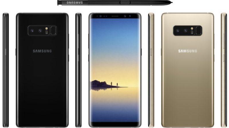 Samsung Galaxy Note 8 : Une reconnaissance faciale pratique mais non sécurisée