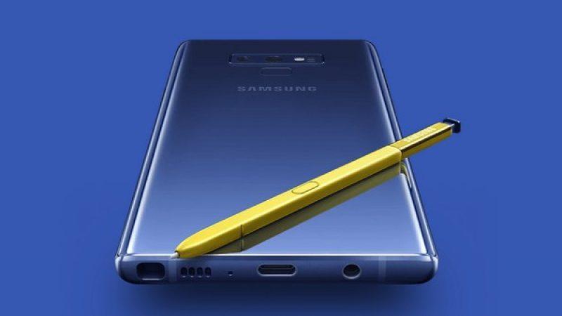 Galaxy Note10 : il y aurait 4 versions dans les tuyaux, dont 2 compatibles 5G