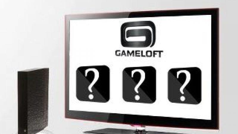 Freebox Révolution : Gameloft dévoile quelques indices sur ses prochaines nouveautés