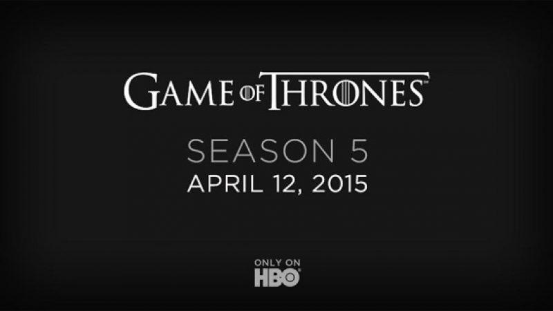 HBO pourrait inaugurer sa plate-forme streaming pour la saison 5 de Game of Thrones