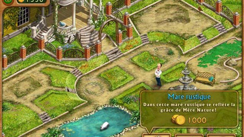 Nouveau jeu Freebox Révolution : Gardenscape